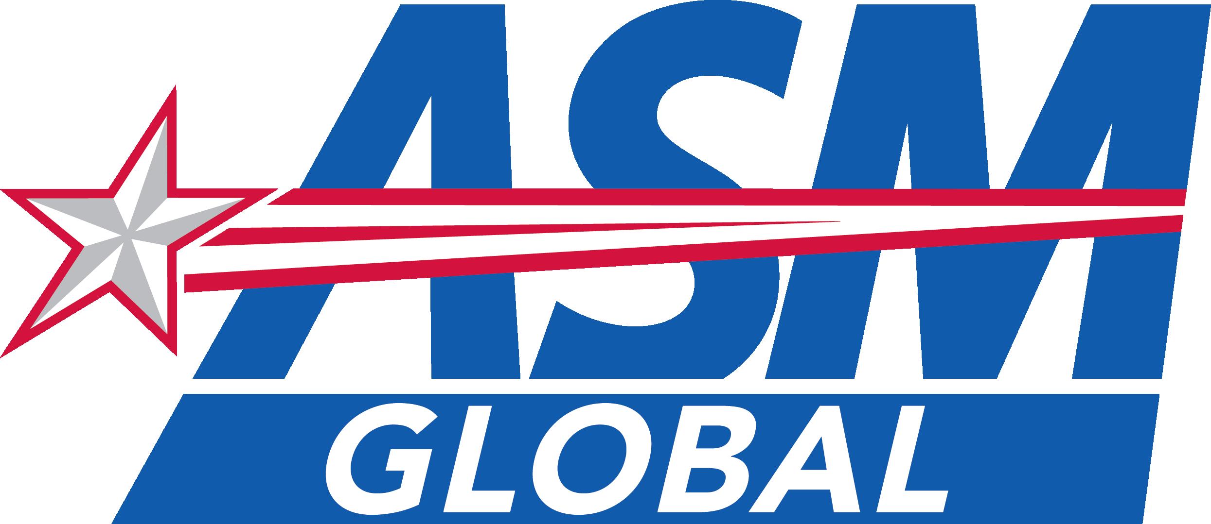 ASM Global Full Color CMYK Logo